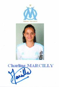 Autographe de Charline MARCILLY